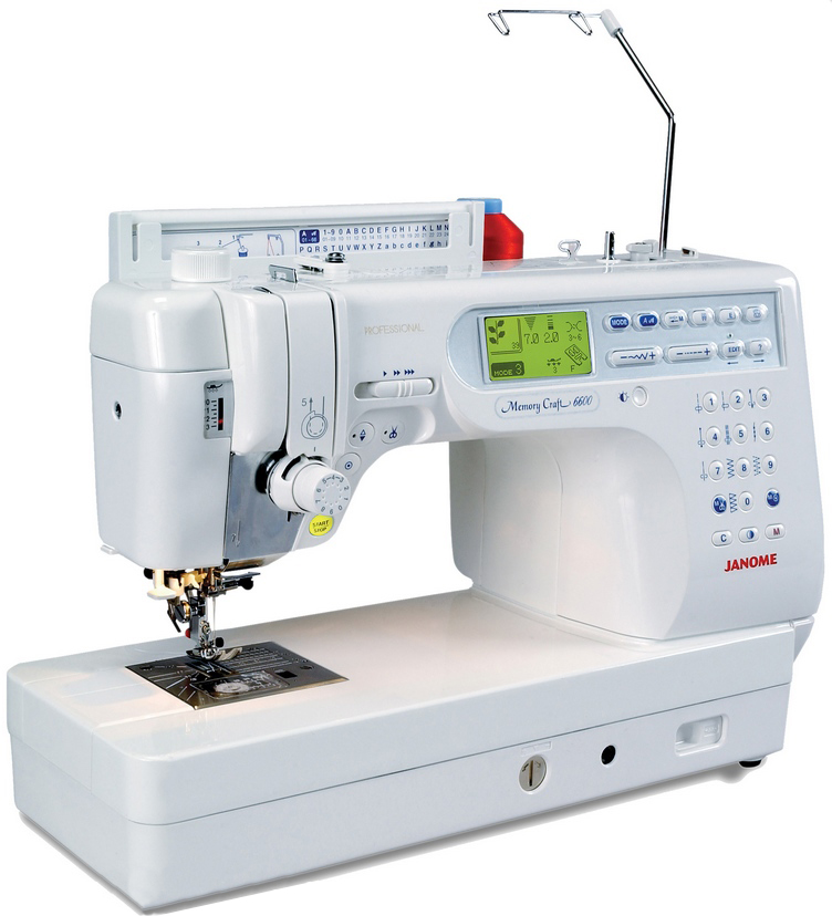 Janome memory craft 6600 p n hwelt flach for Janome memory craft 9000 problems