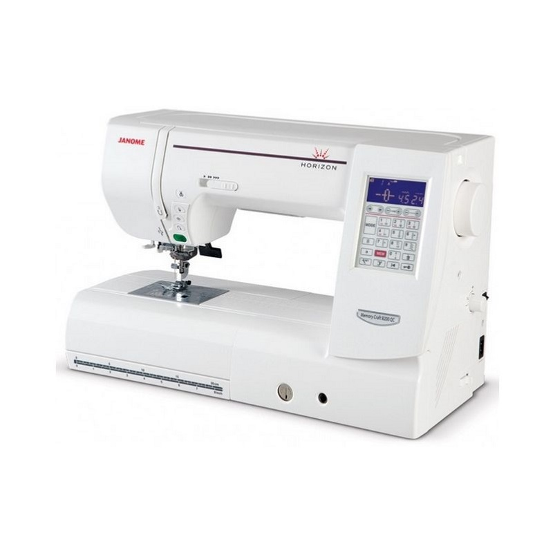 Janome horizon memory craft 8200 qcp se neues design wei for Janome memory craft 9000 problems