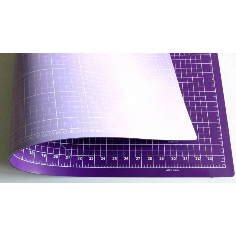 schneidematte lila fliederblau 90 x 60 cm 36 x 24 inch n hwelt flach. Black Bedroom Furniture Sets. Home Design Ideas
