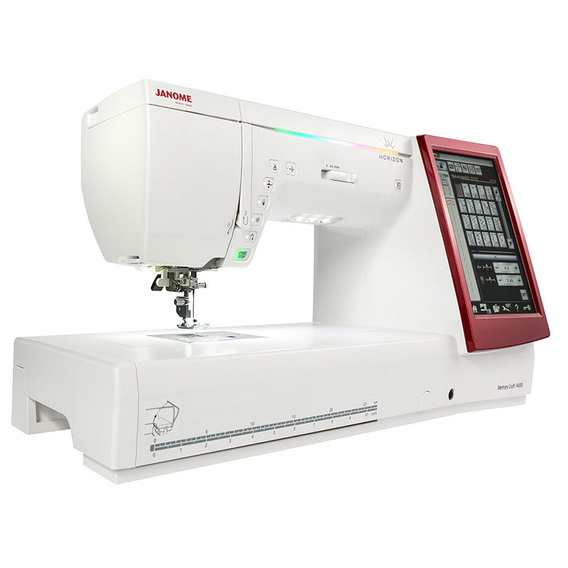 Janome horizon memory craft 14000 n hwelt flach for Janome memory craft 9000 problems