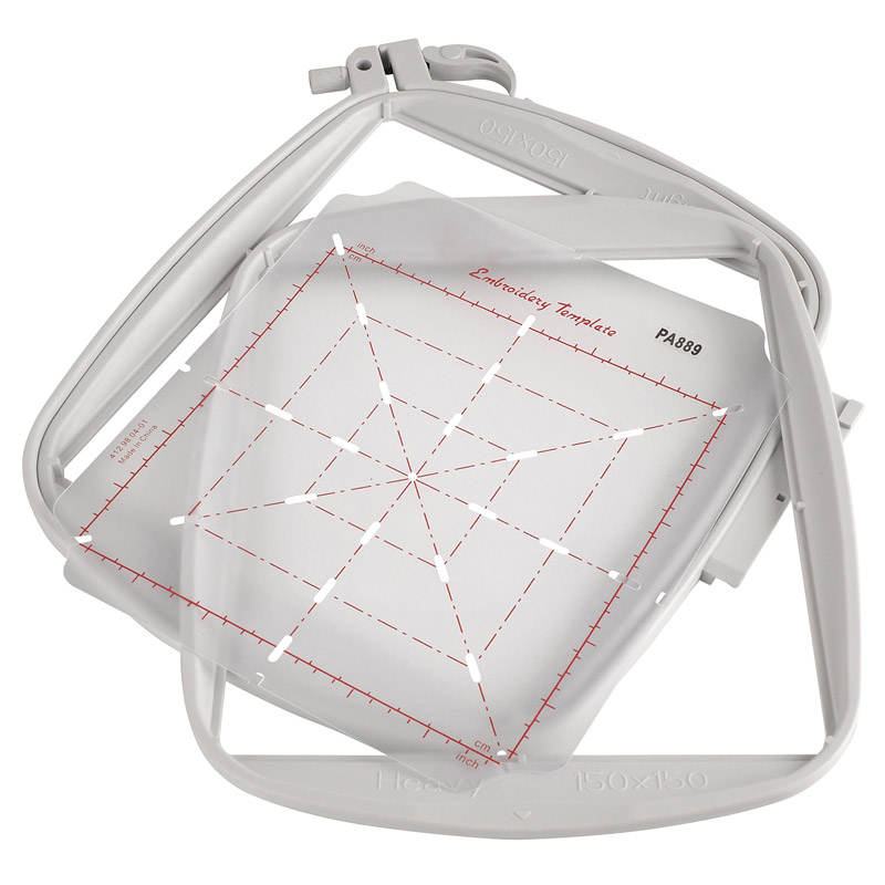 Stickrahmen Do All Quilter\'s Hoop für Pfaff (150 mm x 150 mm ...