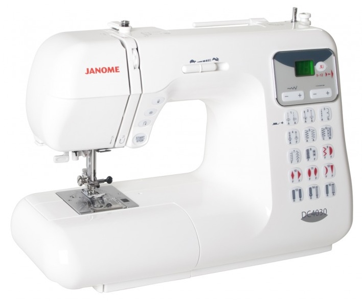 janome dc 4030 computer n hmaschine n hwelt flach. Black Bedroom Furniture Sets. Home Design Ideas